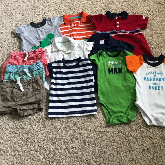 13d216905 Carter's Matching Sets | Baby Boy Carters 6 Month Size Summer Lot ...